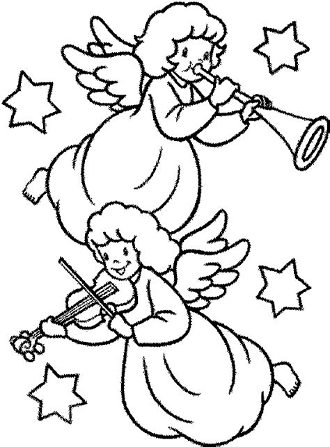 imagenes para dibujar de navidad dibujos para colorear de angeles de navidad plantillas