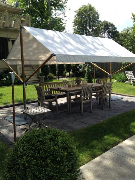 freestanding awnings freestanding awning awning fabric pinterest