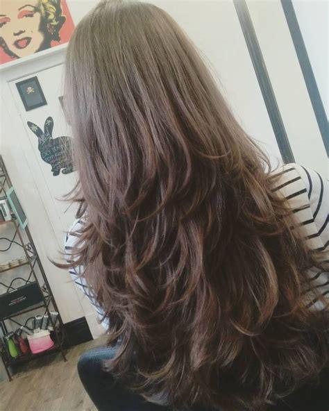 step haircut for long straight hair 45 straight long layered hairstyles hairstyle guru45