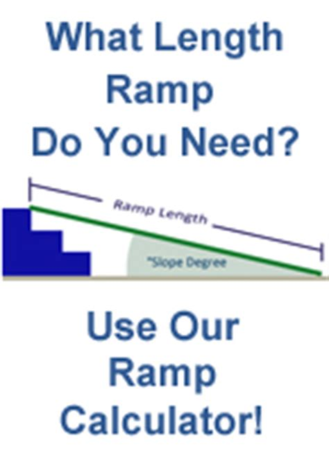 Home Design Express Llc wheelchair ramp slope calculator express ramps