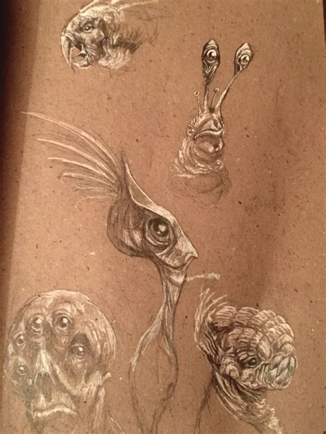 C Sketches by Christian Hammer More Creature Concept Sketches