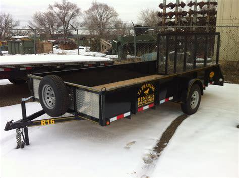 flat bed trailer rental trailer rentals