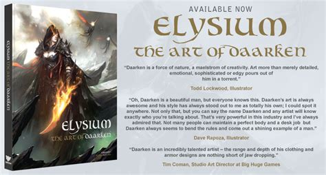 elysium books elysium the of daarken