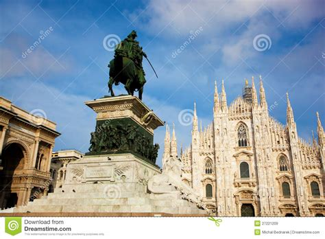 milan tourist attractions milan tourist attractions royalty free stock images