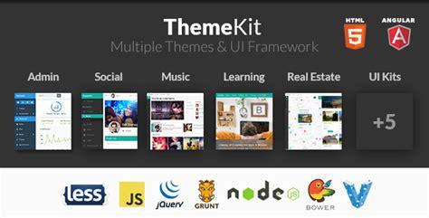 bootstrap themes directory themekit bootstrap admin theme kit by frontendmatter