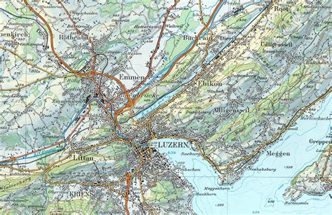 what is a topographical map switzerland map topographic