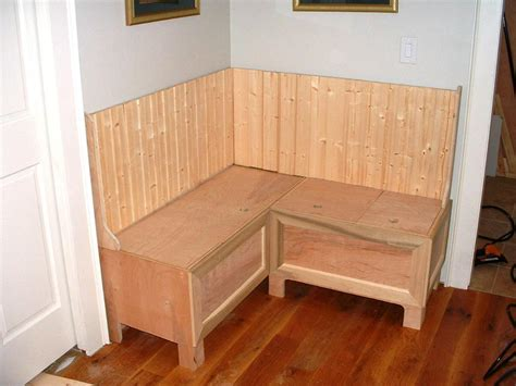 how to build a built in bench with storage built in banquette seating images banquette design