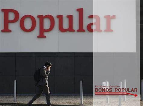 preferentes banco popular afectados bonos subordinados banco popular