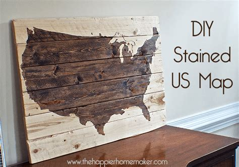 united woodworking diy wooden world map the happier homemaker