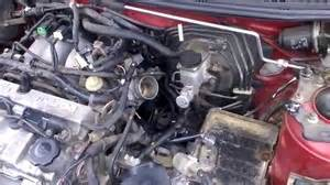 how to remove egr valve of a mazda protege5