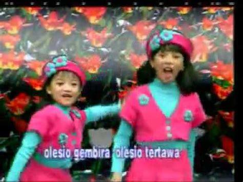 Lagu Karaoke Anak Anak lagu anak anak trio kwek kwek semua oke