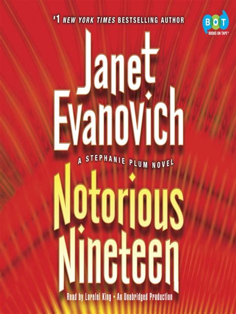Another Janet Evanovich Collaboration by Notorious Nineteen Downloadable Audiobook Douglas