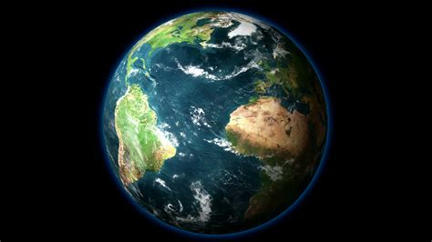 wallpaper of earth rotating hd 1080 planet earth rotates on black background motion