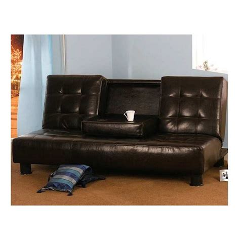 New Leather Sofas New York Faux Leather Sofa Bed