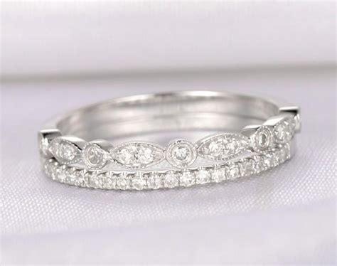 antique wedding bands for him diamond wedding ring set anniversary ring half eternity