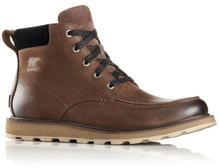 rei mens boots sorel madson moc toe boots s at rei