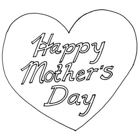 transmissionpress: Happy Mother Day   Love Symbol Coloring Pages