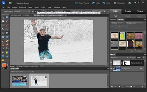 tutorial adobe photoshop elements 10 edit photos in adobe photoshop elements inpixio photo