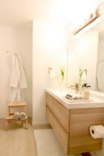 ikea bathroom pinterest vanity mirror godmorgon white gives polished clean look this