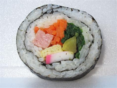 the sushi diva korean sushi rolls faux sushi