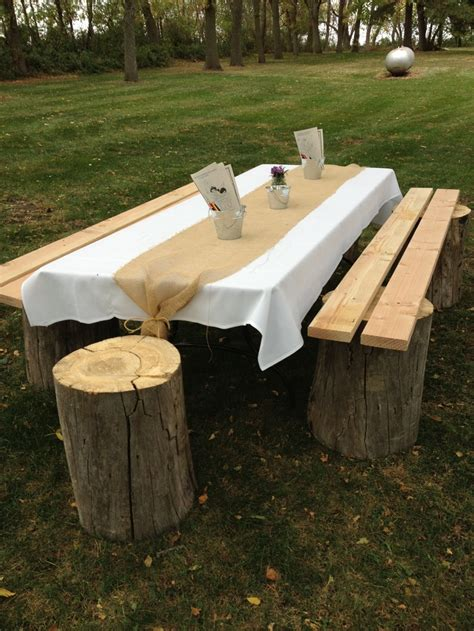 stump bench 17 best images about wood weddings and woody things on