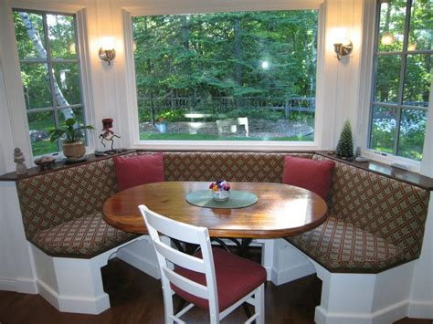 kitchen bench seat cushions trapezoid window seat cushions bay window kitchen table