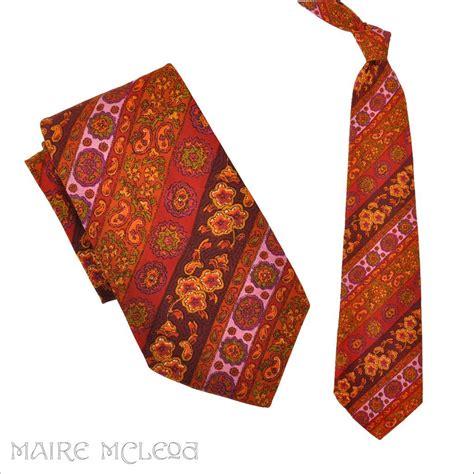 1970 s tie vintage 70s paisley necktie belly warmer 5