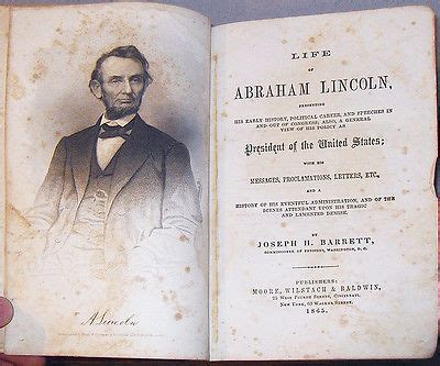 life of abraham lincoln book 1865 rare 1865 life of president abraham lincoln leather