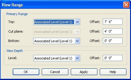 revit tutorial view range 8 1 view range autodesk 174 revit 174 architecture free