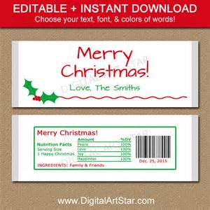 Free Mini Bar Wrapper Template by Editable Bar Wrappers Printable By