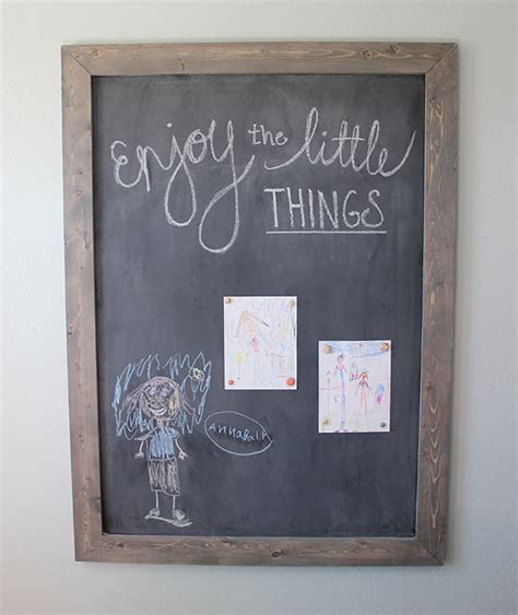 diy chalkboard print diy framed chalkboard domestically speaking