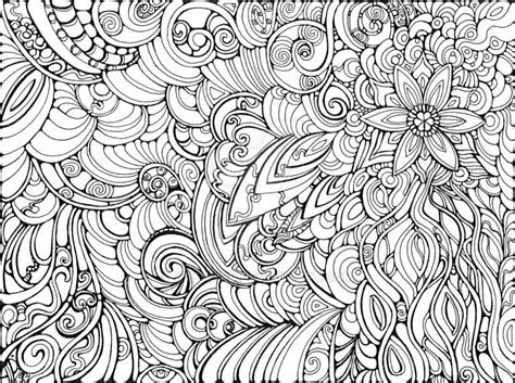 advanced abstract coloring pages let it flow by artwyrd abstract doodle zentangle coloring