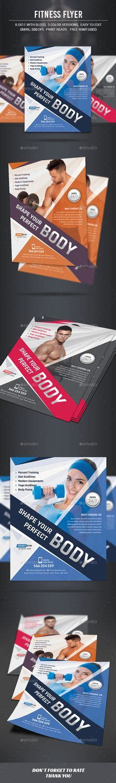 download layout brosur fitness trainer brochure download template http www