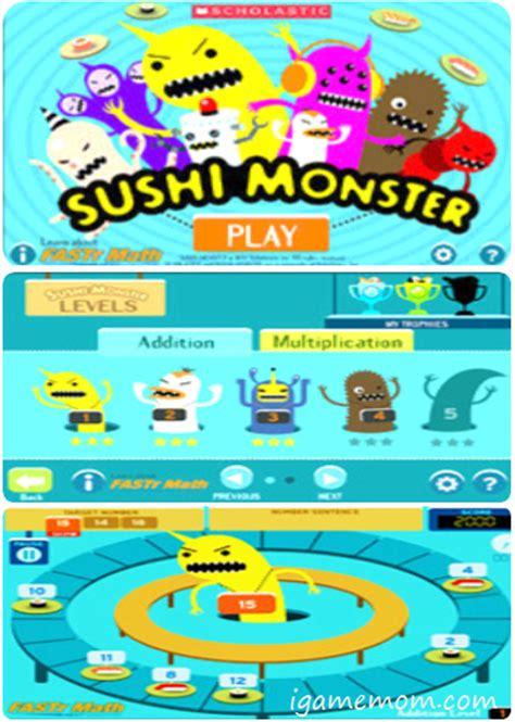 Sushi Matah free app practice math with sushi