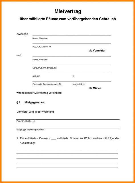 Mietvertrag Wohnung by 11 K 252 Ndigung Mietvertrag Vorlage Zum Ausdrucken