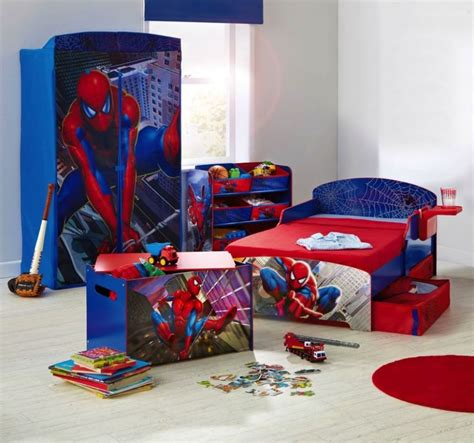 toddler boy bedroom sets spiderman toddler bed kids furniture ideas