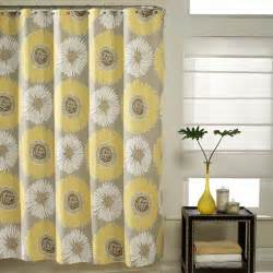 Shower Curtains Yellow And Gray Yellow And Grey Shower Curtains