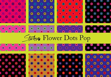 polka dot pattern on photoshop flower polka dots pattern pop free photoshop patterns at