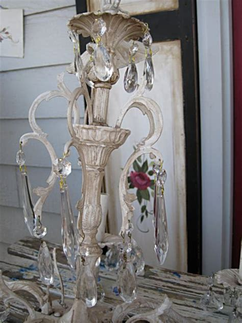 How To Paint A Chandelier Karla S Cottage Lighten Up Or How To Paint A Chandelier