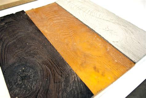Wood Grain Tile From a Rubber Mold   ShapeCrete