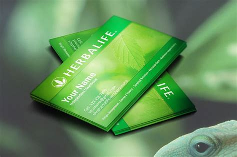creative herbalife business cards idea ideal for