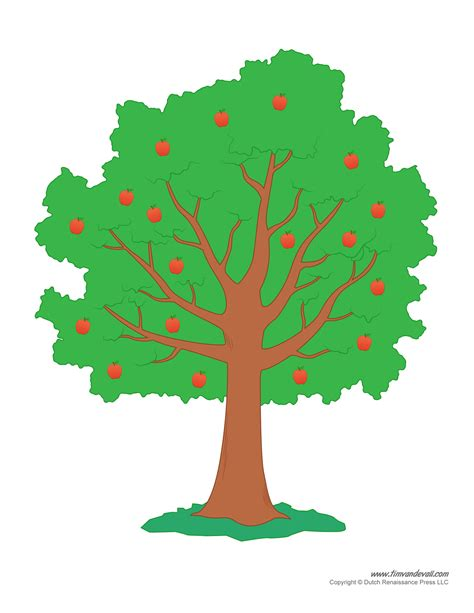 Template Of Tree by Tree Templates Tree Printables