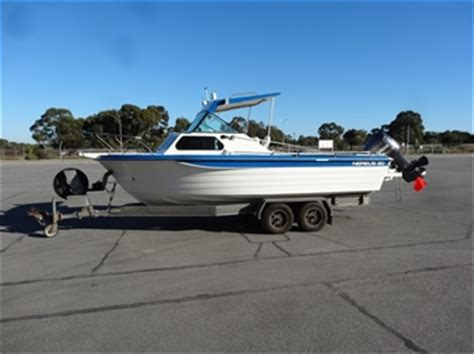 nereus boats for sale australia sa government nereus 20 foot fibreglass boat