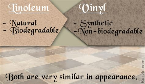 natural or artificial linoleum flooring vs vinyl flooring