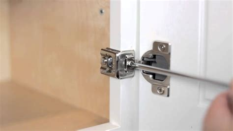 adjusting cabinet door hinges how do you adjust kitchen cabinet door hinges