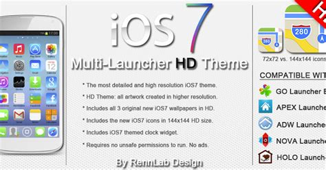 themes for iphone 4 ios 7 1 2 ios7 iphone hd 5 in 1 theme v1 0 apk download free