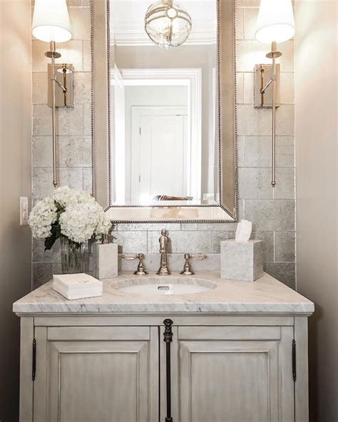 such an powder room by castlwood custom builders