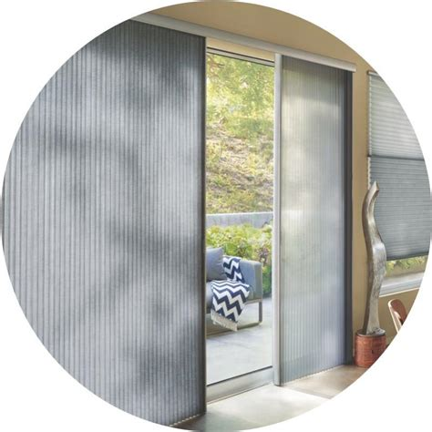 Douglas Patio Door Blinds The Alustra 174 Collection Of Duette 174 Architella 174 Hunter
