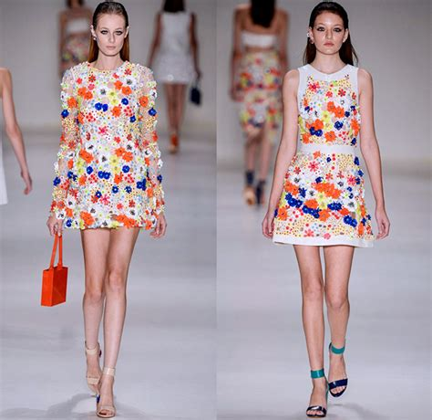 Summer 08 Trends Floral The Catwalk Looks by Patbo 2015 2016 Summer Womens Runway Catwalk