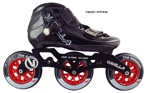 Sepatu Vanilla Shoes randomly creative corner inline skates and skateboards